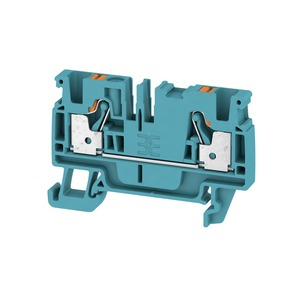 Weidmuller Klippon 4mm² A2C 4 BL Push-In Feed-Through Terminal Block 32A 800V Blue (Pack of 100)