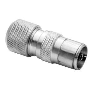 Antiference Aluminium Female Coaxial Plug