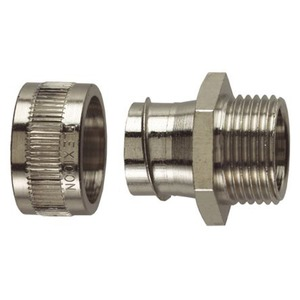 Flexicon FU Nickel Plated Brass Fixed Male Connector M50