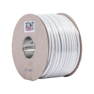 6242B 2.5mm² 2-Core Premium Fire Safety Wiring Twin & Earth Cable 100m White