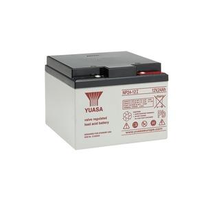 Yuasa 12V 24Ah Lead Acid Battery 166 x 175 x 125mm