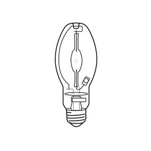 Venture Whitelux Plus E27 Metal Halide Halogen Lamp 70W 85V 3700K 54 x 141mm