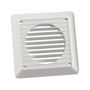 Newlec Exterior White Wall Grille 100mm