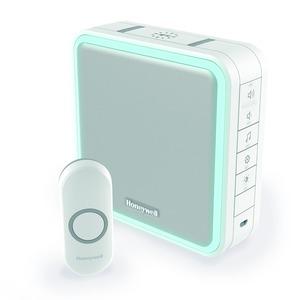 Honeywell Series-9 1.5V 90dB 8-Tune 200m Wirefree Chime Kit White
