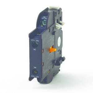 Contactors motor control industrial controls rexeluk newlec contactor auxiliary contacts side mount 1no1nc black asfbconference2016 Image collections
